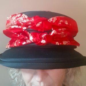 Unique 1950s Vintage Dress Hat